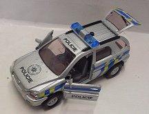 Česky mluvící policejní auto zvu...