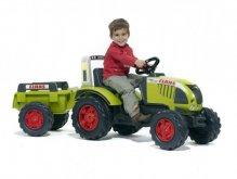 Traktor Farmer a přívěs zelený AKCE
