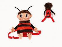 Batoh dětský Brumda plyšový včelí medvídek
