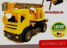 Autojeřáb Lena 70 cm funkční Novinka