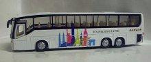 Autobus Express line svítící se zvukem kovový z...