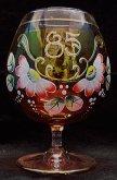 Jubilejka červená duhová 85 malovaná F8