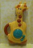 Dětská hudební zvuková hračka Žirafa pro nejmen...