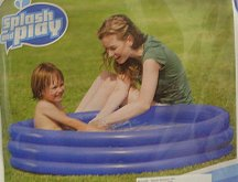Bazén nafukovací 122x25 cm 3 komory kulatý 167 ...