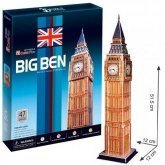 3D Puzzle Londýn Big Ben 47 dílků Anglie