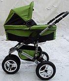 Maxim 3 kočárek zeleno černý