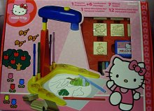 Projektor Hello Kitty s razítky v krabici