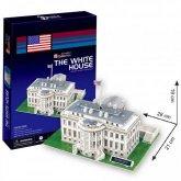 3D Stavebnice prostorová Bílý dům 64 dílků USA ...