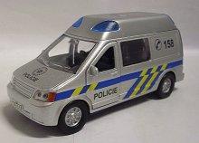 Auto kovové Policie zvukové se světlem