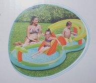 Bazén hrací dvoudílný nafukovací...