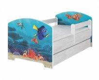 BabyBoo Dětská postel 140 x 70cm - Dorry
