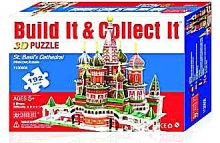 3D Puzzle St.Basil Catedral bazilika Moskva
