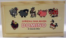 Domino dřevěné Zvířátka pana Mil...