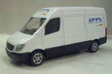 Auto přeprava zásilek PPL kovový...