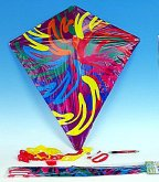Drak létající pestrobarevný Magic plast velký 6...