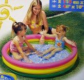 Bazén tříbarevný velký nafukovac...