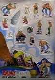 Magnety Asterix z tvrdé lepenky