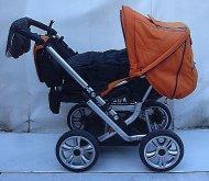 Kočárek Gesslein F6 air kombinovaný color orang...