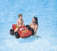 Blesk McQueen nafukovací vozidlo do vody Cars č...