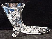 Roh hojnosti broušený skleněný dárek pro mysliv...