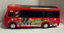 Autobus svítící narážecí zvukový Music Bus 3D p...
