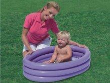 Bazén pro nejmenší jako vanička má 3 komory