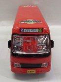 Autobus svítící zvukový náražecí...