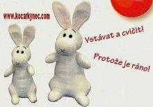 Bob a Bobek česky mluvící králíci MAXI z klobou...