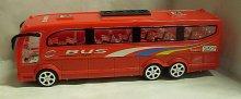 Autobus velký City Bus na setrvačník plastový č...