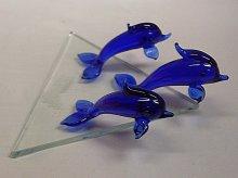 Delfíni sada 3 kusy sklenění barevní LT 282