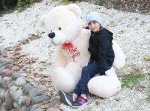 Baby Nellys Plyšový medvěd 180cm...