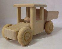 Dřevěné auto kamion nákladní pří...