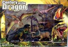 Dinosauři 5 kusů plastových figurek set v krabici