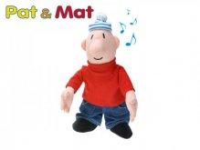 Česky mluvící figurka Mat plyšový 35 cm na bate...