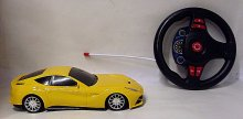 Auto RC Ferrari 1:18 závodní žlu...