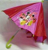 Deštník Minnie Disney červeno růžový dětský 65 cm