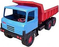 Auto Tatra 815 modro červená česká výroba