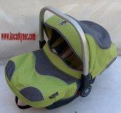 Autosedačka Baby zero plus 0 až 13 kg zeleno šedá