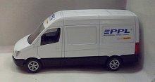 Auto přeprava zásilek PPL kovový model dodávky ...