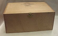 Dřevěná bedýnka skříňka s víkem a zapínáním 19 ...