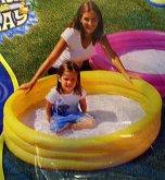Bazén kulatý žlutý jednobarevný ...