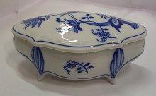 Doza Hana porcelánová cibulák cibulový dekor