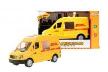 Auto přeprava zásilek DHL zvukov...