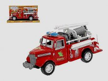 Auto požární Soptík 26 cm na setrvačník Akce