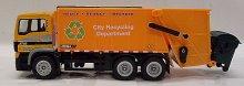 Popelářské nákladní auto MAN kovový model 1:50 ...