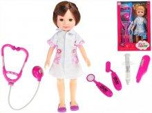 Doktorka lékařka panenka velká vhodná do kočárk...