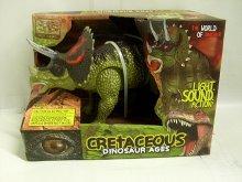 Triceratops Dinosaurus chodící zvukový svítící ...