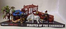 Piráti z Karibiku figurky Pirátská sada Pirate ...