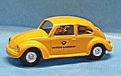 Auto Volkswagen Porsche Brouk poštovní plechový 13