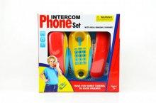 Dětský telefon z pokoje do pokoje zvukový svítí...